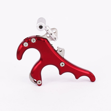 Wholesale Ourpgone 5 Color 4 Finger WOLF Grip Caliper Release Aid Stainless Steel Release for Compound Bow Hunting/Shooting Archery Bow