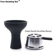 Elektronik Nargile Vape Narguile Smoking Pipe Shisha Accessories Cachimba Snowflake Kaloud For Chicha Phunnel TWAN0356