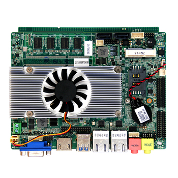 Industrial motherboard with Intel Mobile ivy bridge I5-3210 processor and onboard 4GB ram support 2*RTL8111E PCI-E Gigabit lan