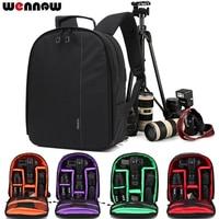 wennew DSLR Bag Backpack SLR Camera Case for Canon EOS 50D 60D 60Da 5D 6D 7D 7D2 6D2 5D2 5D3 5D4 5DS 5DSR G1 X Mark II III G5X