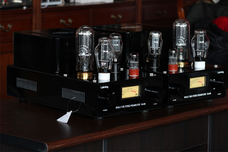 Music Hall 300B Push 845 Handmade Tube Stereo Amplifier Class A Split SRPP Hi-Fi amp Large Power 60W music hall latest 12ax7 vacuum tube pre amplifier hifi stereo valve pre amp audio processor pure handmade