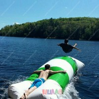 Free Shipping 5x2m High quality small water games inflatable water blob for sale