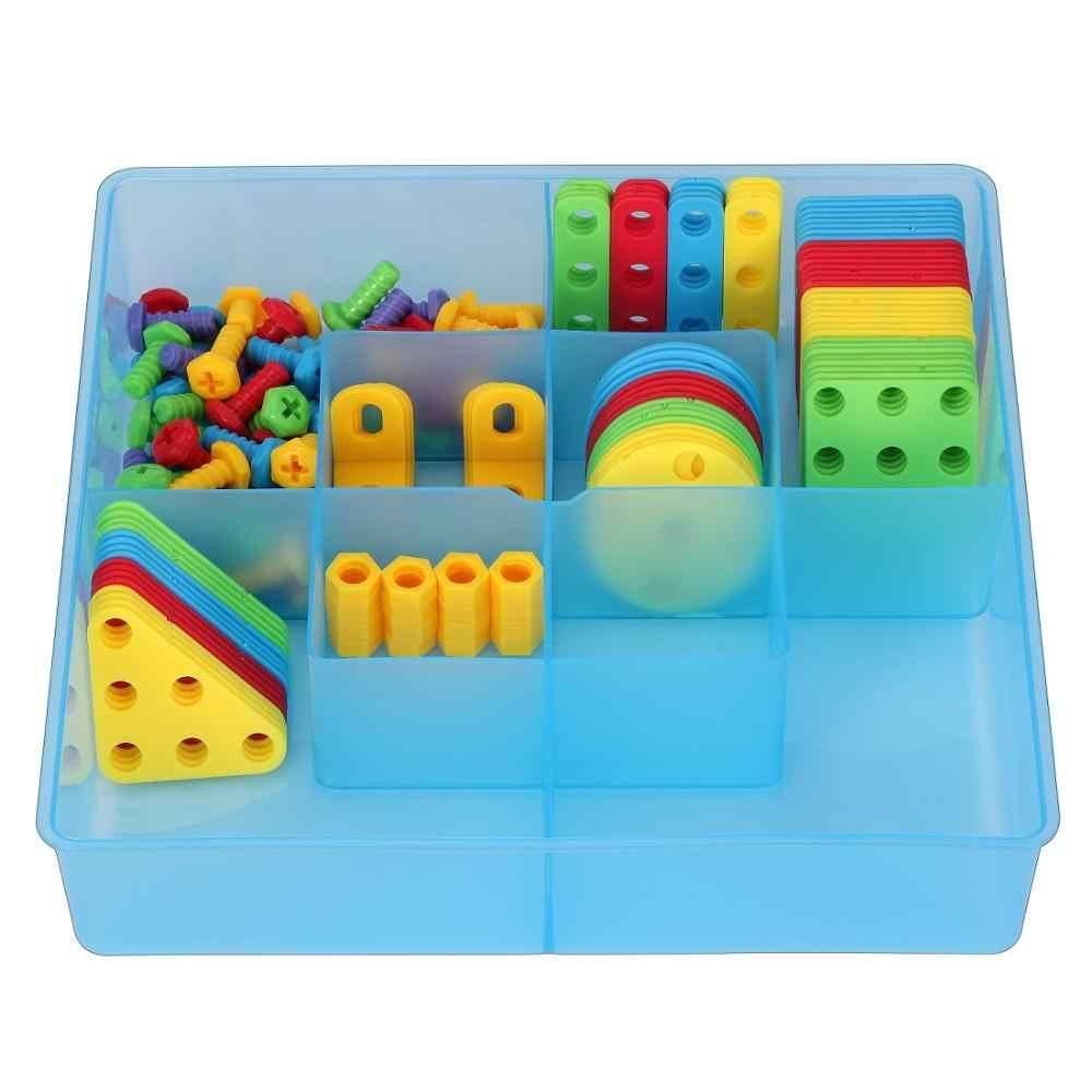 3D Строительные наборы для детей игрушка дрель играть творческие развивающие игры мозаичный узор здание детский набор инструментов для мальчика 3 года игрушка