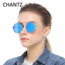 2017 New Arrivel Round Sunglasses Men Polarized Reflective Mirror Driving Sun Glasses for Women Brand Shades Lunettes De Soleil