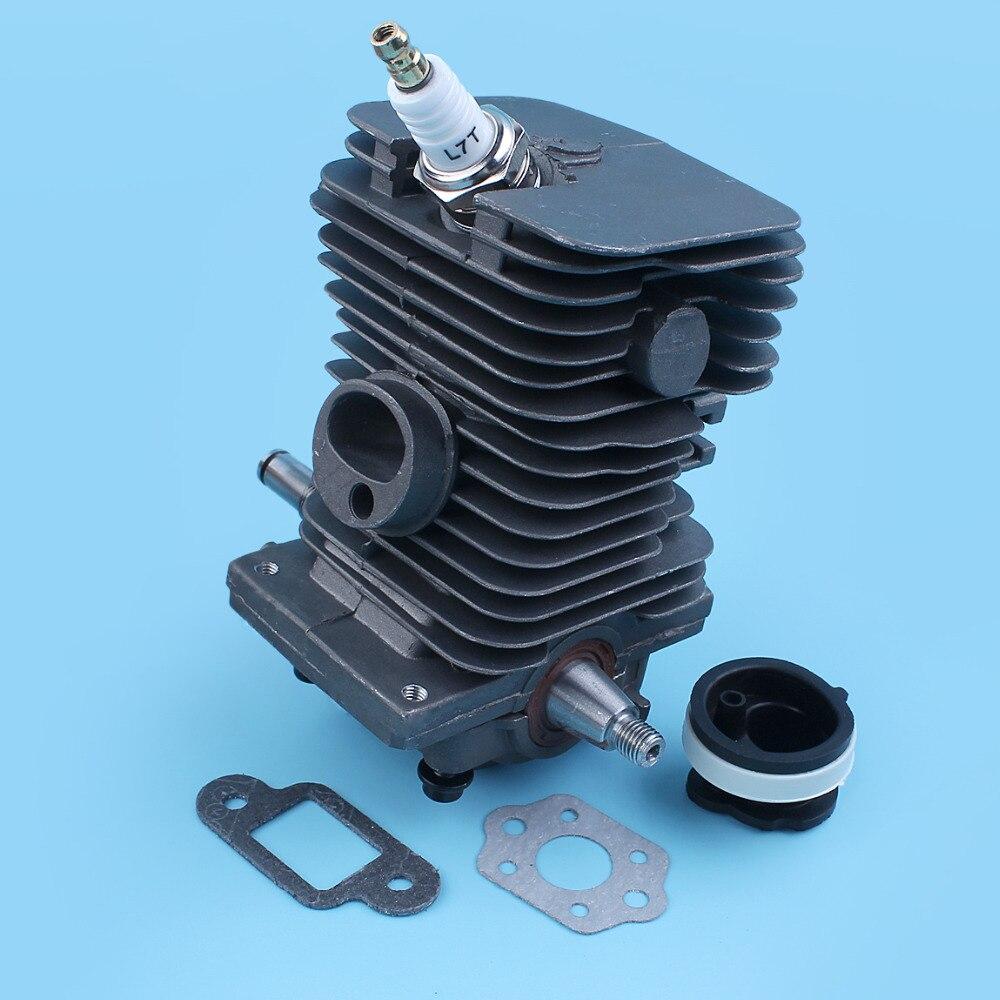 38mm Nikasil cylindre Piston vilebrequin roulement à billes joint d'huile Kit de bougie pour Stihl 018 MS180 MS 180 tronçonneuse Carb joint d'admission