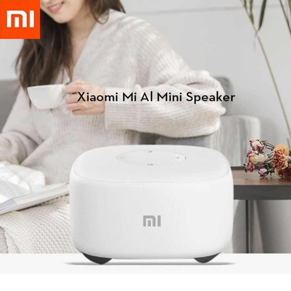 Xiaomi Mini 2.4g Wifi Voice Smart Speaker Draadloze Draagbare Speaker Bluetooth 4.1 Met 4 Microfoon for a Smart home controller