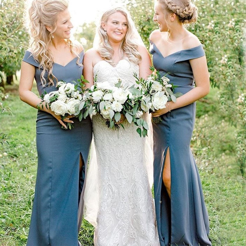 lamiabridal Vestido De Festa Longo Sheath   Bridesmaid     Dresses   Floor Length Custom Made Long Party   Dress   Cheap   Bridesmaid   Gowns