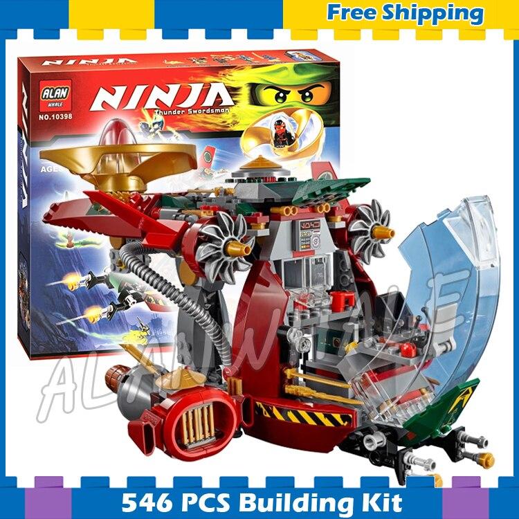547 Stks Bela 2016 Nieuwe 10398 Ronin R.e.x. Ninja Building Kit Speelgoed Bricks Compatibel Met Lego Kerstcadeaus Goederen Van Hoge Kwaliteit