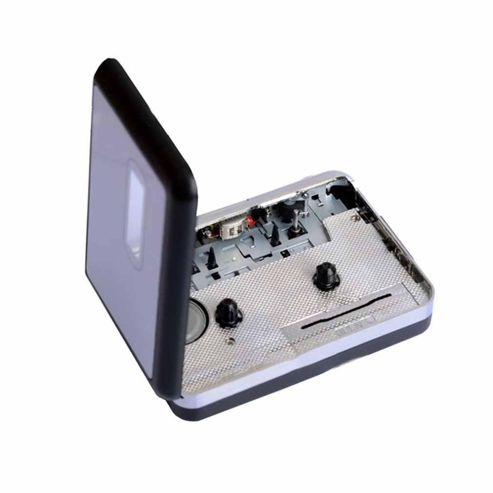 ウォークマンカセットプレーヤー USB カセットテープ Mp3 カセットプレーヤーステレオ音楽プレーヤー変換音楽 USB カセットキャプチャープレーヤー