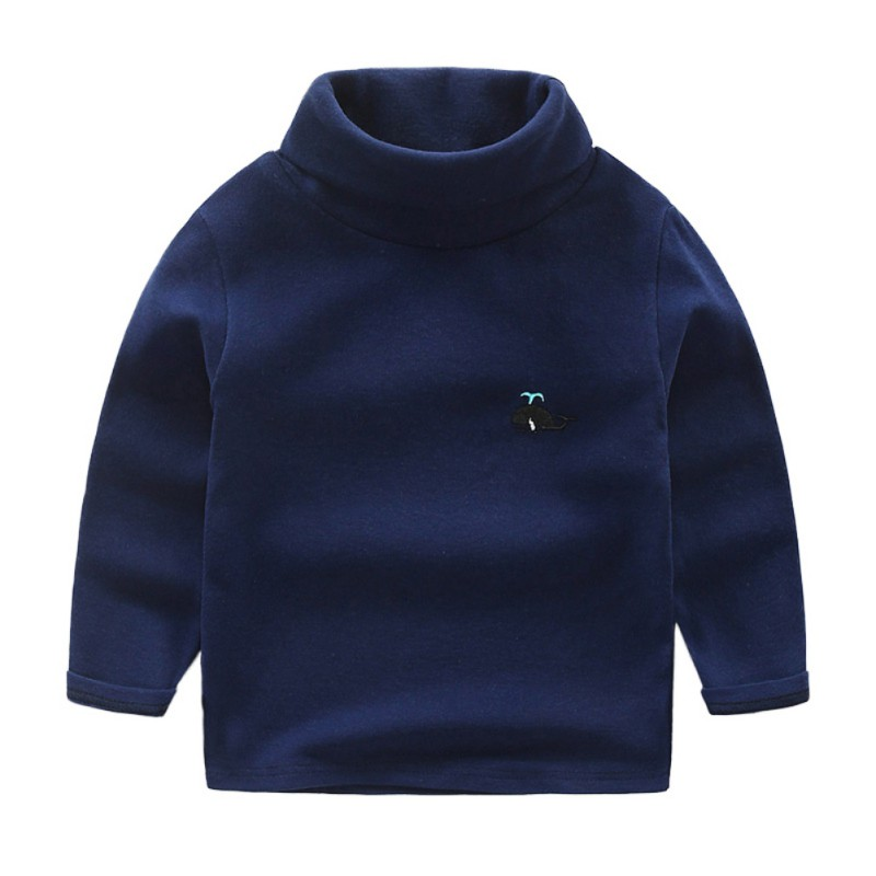 Fashion Warm Autumn Winter Baby Boys Girls Clothes Toddler Cotton Bottoming Turtleneck Sweater Pullovers Kids Clothes 2017 new brand newborn toddler infant baby boys girls fashion striped hoodies autumn warm clothes 2pcs sweater suit