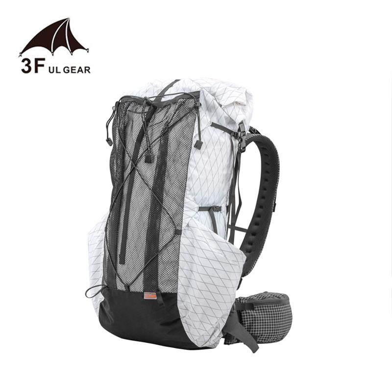 3F UL GEAR 35L 45L Lightweight Durable Travel Camping Hiking Backpack Outdoor Ultralight Frameless Packs XPAC