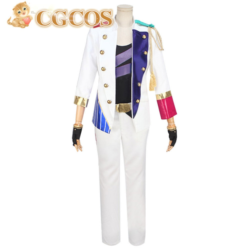 CGCOS Free Shipping Cosplay Costume Tsukiuta Iku Kannazuki New in Stock Halloween Christmas Party Uniform