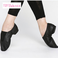 Adult Jazz Dance Shoes for Unisex Jazz Shoes Dance Boots Black Tan Cetral Elastic Jazz Dance Sneaker Slip on Shoes Dance