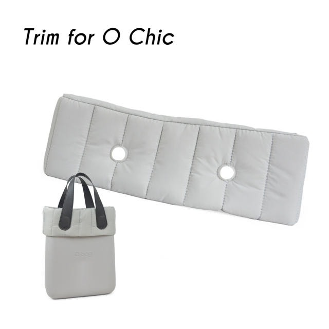 New O Chic OCHIC quilted trim Decoration  for OBAG Bag body Obag Accessory 5 colours