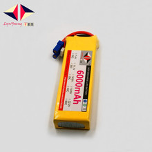6000mAh 11.1V 35C 3S LYNYOUNG lipo battery for RC Drones Racing Airplane Helicopter Quadrotor Rechargeable Model plane battery