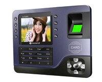 3.2 polegada TFT Tela Colorida Impressão Digital/Cartão de RFID (125 khz)/Senha do Sistema Do Comparecimento Do Tempo