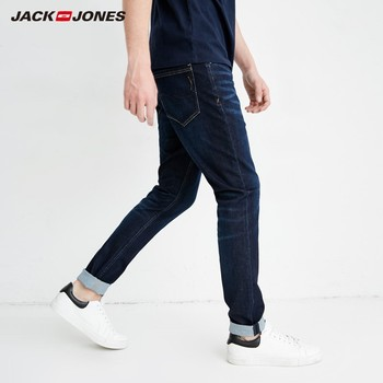 JackJones 2019 Spring Men's Casual Denim Pants Skinny Jeans Classic Jeans Cowboys Young Man J|218132558-218332539