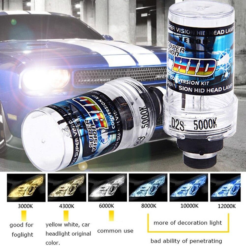 2x Original d2s Xenon 5000K light D2S D2C 35W Car HID Xenon bulbs light lamps for