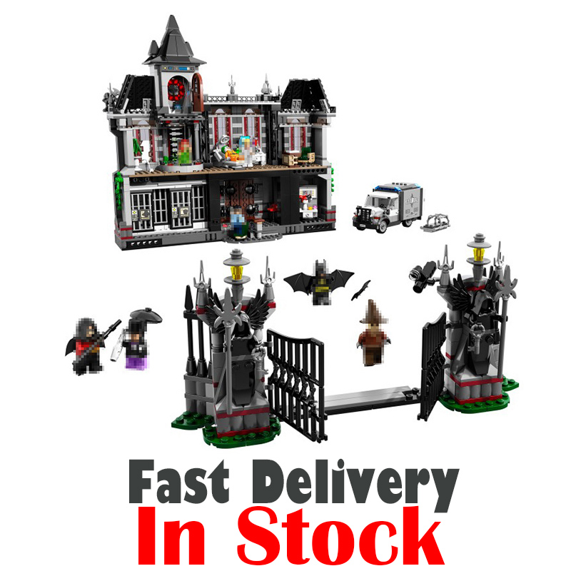 Lepin DC 07044 Arkham Asylum Breakout Super Heroes Batman Superhero Building Blocks Bricks 1685pcs Toys For Kids 10937 leGoINGly lcd screen display for sony xperia l s36h s36 c2105 by free shipping hq