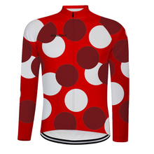2019 New alienskin dot Cycling Jersey For Men Long Sleeve Autumn Bicycle Road MTB Bike Tops Clothing Maillot Ropa Ciclismo 6564