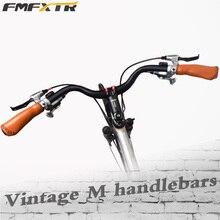 FMFXTR aleación de aluminio ciclismo forma de M manillar MTB alta calidad Durable bicicleta elevador barra 31,8x640mm