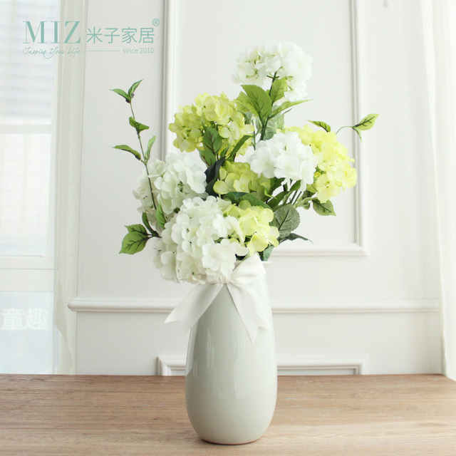 Miz Artificial Flower And Vase For Home Decoration Artificial