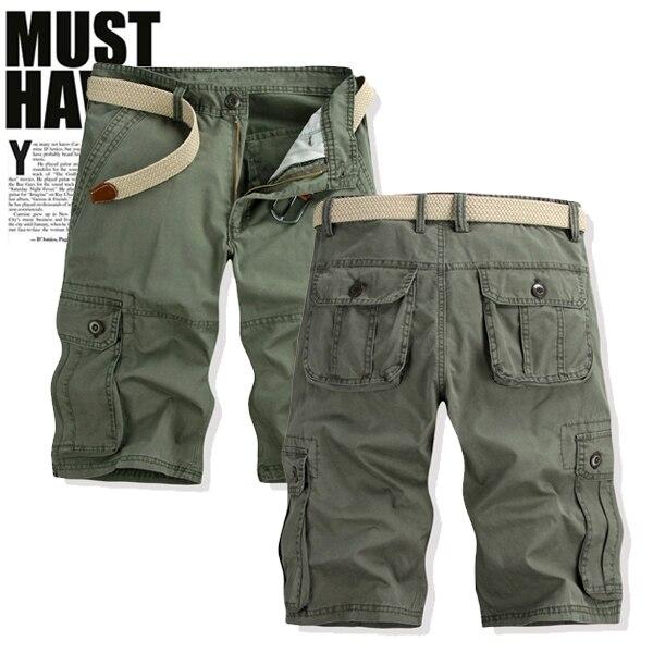 cargo shorts pants for men - Pi Pants