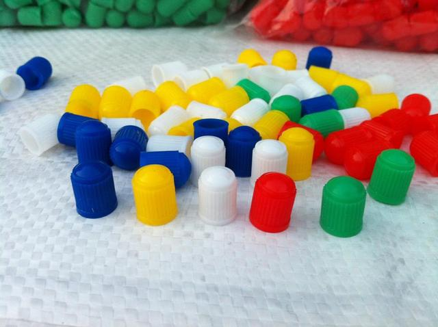 Car Wheel Tyre Tire Valve Stem Plastic Caps Colorful Air Dust Waterproof Covers For Automobiles Motorcycles Bikes Trucks Buses