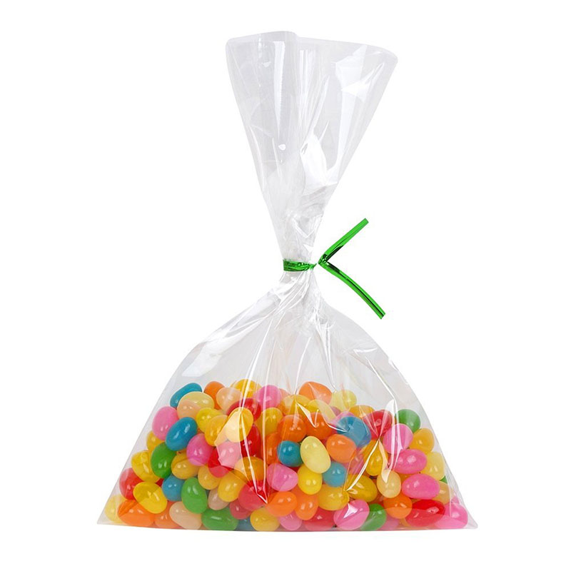 Pcs transparent clear plastic bag cookies diy gift