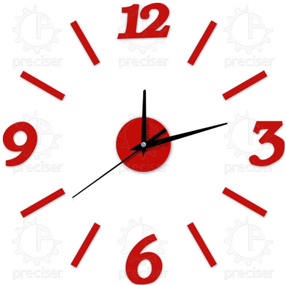 12 3d diy orologi da parete orologio da cucina digitale esterno moderno grandi grandi