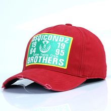 2019 High Quality DSQICOND2 Cotton Baseball Cap Men Women Dad Hats Adjustable Red Hat Casquette