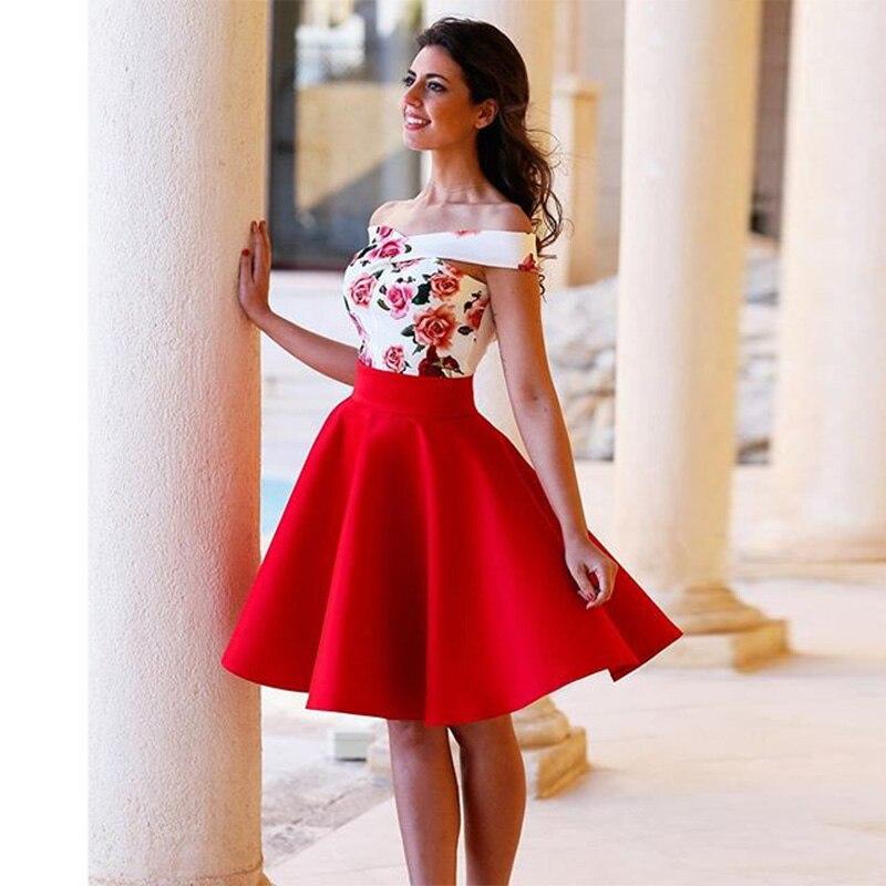 Floral Cocktail Dress Pattern