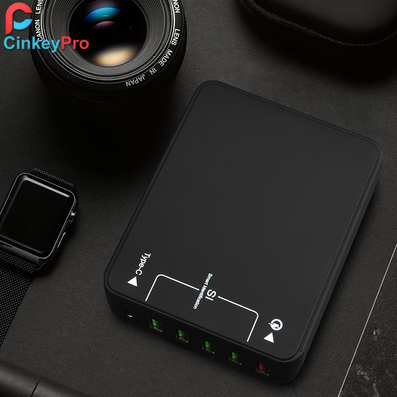 CinkeyPro Quick Charge 3.0 Cargador USB de 5 puertos para iPhone - Accesorios y repuestos para celulares - foto 4