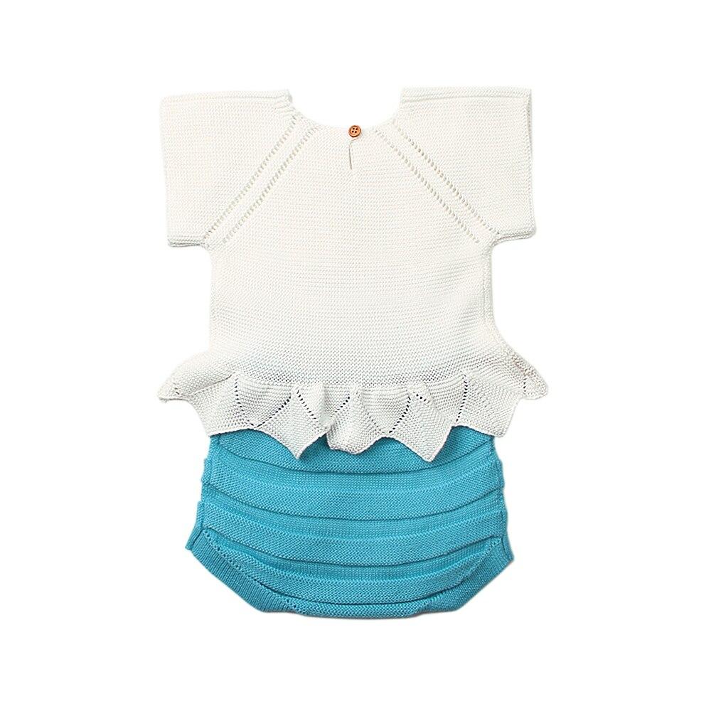 Fancy Babykleding Baby Girl Bodysuites Pasgeboren Valse tweedelige - Babykleding - Foto 2