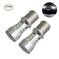 CARGOOL 2pcs Car 18W LED DRL Bulbs Super Bright Backup Light Bulb Universal Turn Signal Lights