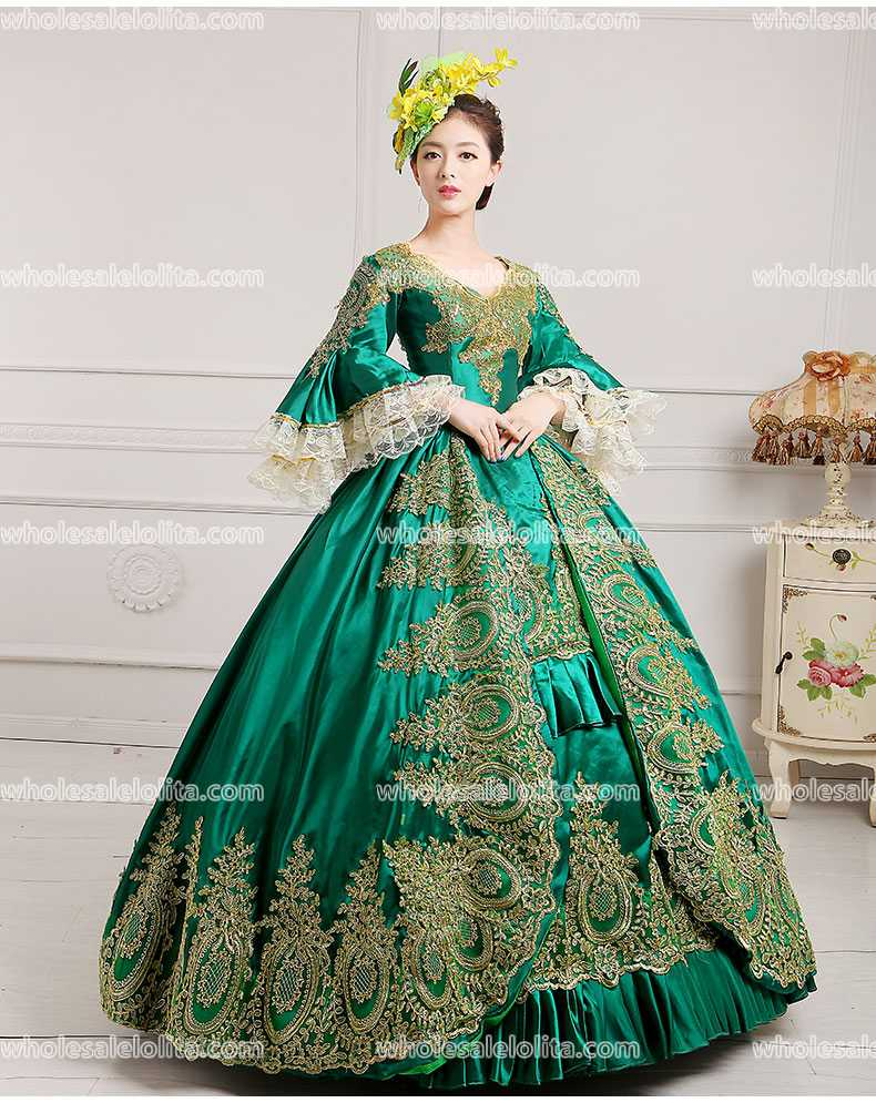 1876659d934b4 Victorian Gothic Period Dress Ball Gown 18th Century Court Dress / Ladies' Victorian  Dresses /Southern Belle Ball Gown-in Dresses from Women's Clothing on ...