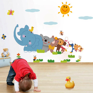 Child Real Wall Stickers Baby Boy Room Decoration Wall Stickers Cartoon Part 33