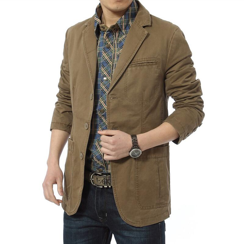Aliexpress.com : Buy Brand New blazer men Casual Cotton Denim ...