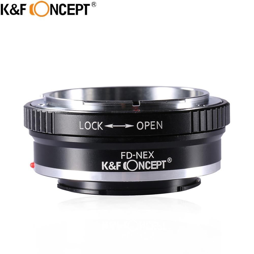 K&F CONCEPT Camera Lens Adapter Ring for Canon FD/Olympus OM/Pentax K+Tripod/Pentax K Mount Lens to Sony E mount Camera Body jintu 420mm 800mm super telephoto lens zoom lens t2 adapter for pentax k3 k5 k7 k20d k s1 k 50 k 30 k5 iis k 7 k 3 k2 camera