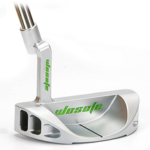 golf club putter mens right 33 34 35inch silvery steel  Semicircular shape shaft freeshipping