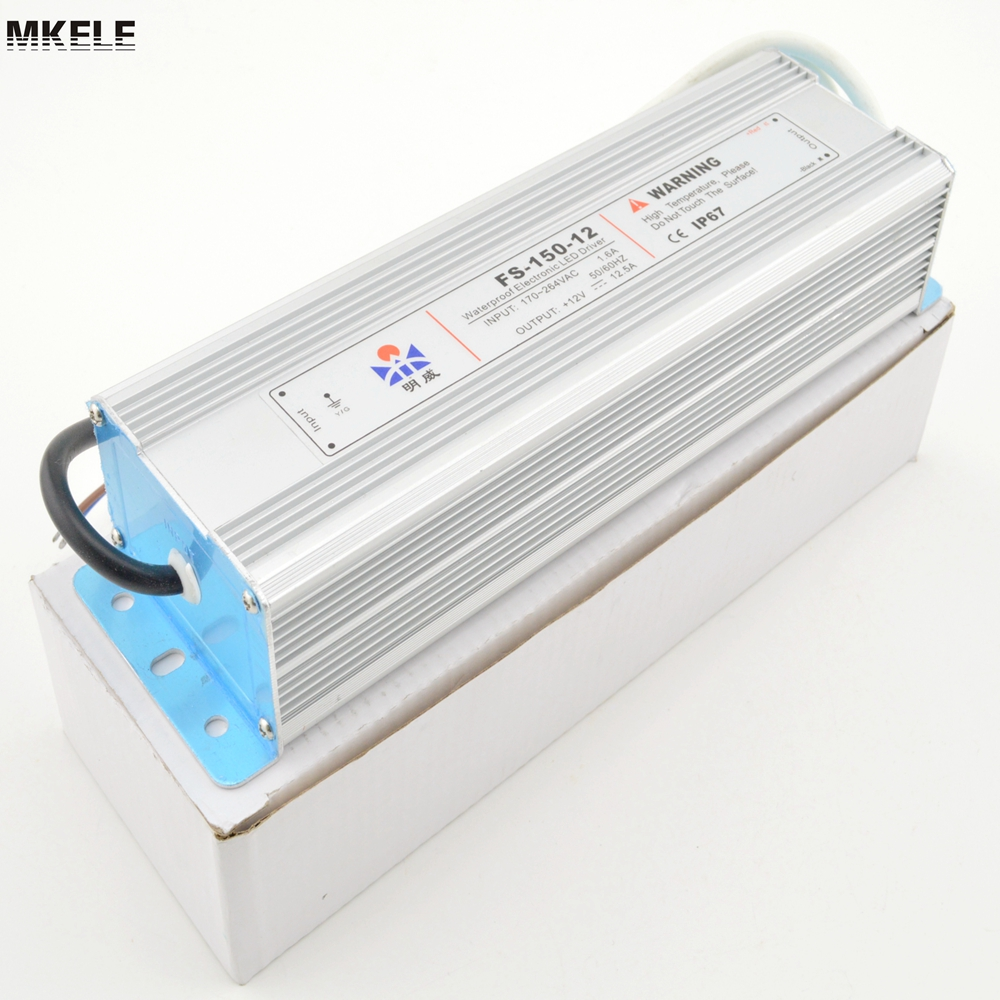 FS-150 Ac/dc Waterproof LED Switching Power Supply 12v 24v 36v Transformer Led 150w With CE Certification