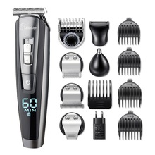 HATTEKER Hair-Trimmer Electric-Hair-Cutting-Machine Professional Waterproof Body Men