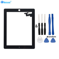 Netcosy Tablet Touch Panel For Ipad 2 A1395 A1396 A1397 Touch Screen Digitizer Panel Black White
