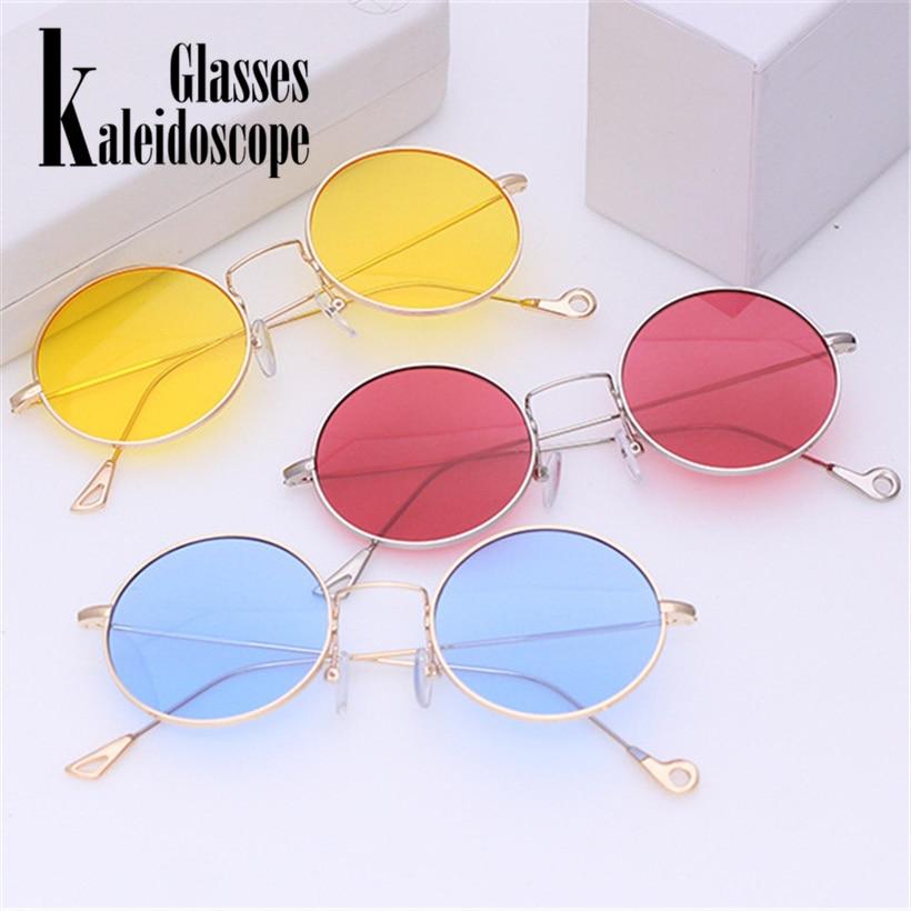 Apparel Accessories Brand Rhode Island Novelty Round Sunglasses Fashion Ocean Clear Sun Glasses Momen Men Metal Retro Eyewears