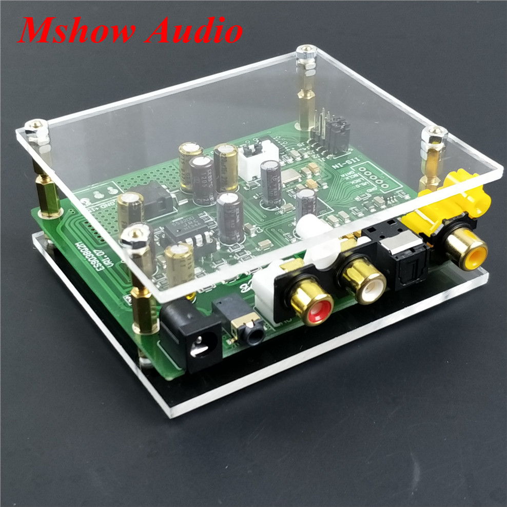 NEW ES9038 ES9038Q2M DAC Decoder board Support IIS DSD DOP 384KHz free shipping es9038pro es9038 9038 decoder dac chip 1pcs 100% original authentic free shipping