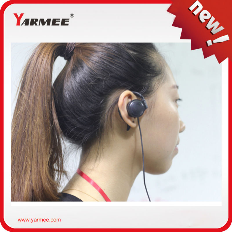 YARMEE Tour Guide System Including Mini Transmitter And Mini Receiver For Rechargerable Battery For High Quality (2 T/60R) YT100