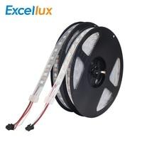 Excellux DC 5M 60LEDs Led Strip 10mm Width Digital RGB LED Chips 2812 LED Chip IC