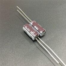 10 шт. 39 мкФ 63 В Nichicon серии ПМ 6.3×15 мм супер низкий импеданс долгий срок службы 63v39uf Алюминий электролитический конденсатор