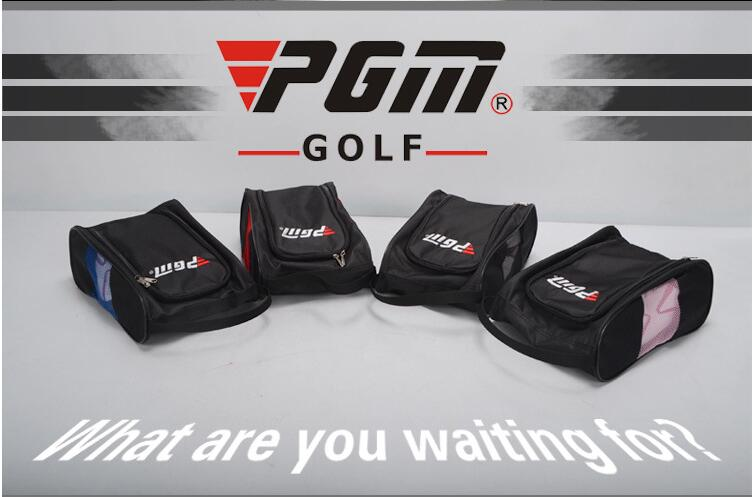 PGM genuine men and women Outdoor sports golf shoes Bags breathable convenient nylon golf sports shoes bag four colors