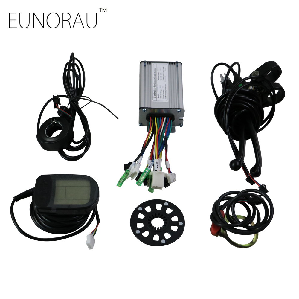 E bike controller Conversion Kit electric bicycle controller system for  48V500W hub motor kit free shipping pasion e bike 28 road bike utility bicycle electric conversion kit 48v 1500w rear wheel motor 7 speed freewheel sensor brake